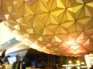And our night ended at Epcot...